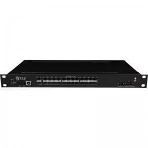 2*10G Fiber Port+24*1000Base-X, Managed Industrial Ethernet Switch JHA-MIGS24W2-1U
