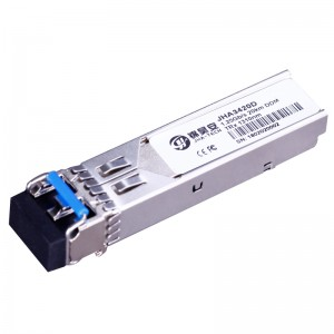 1.25G Single Mode 20Km DDM | Dual Fiber SFP Transceiver  JHA3420D