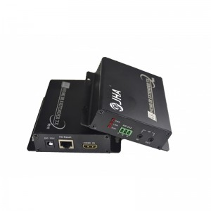 Compact 4K HDMI Extender over Ethernet Without Delay