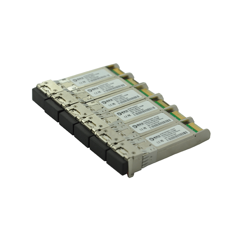 A collection of common SFP optical modules
