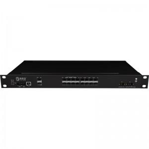 2*10G Fiber Port+16*1000Base-X, Managed Industrial Ethernet Switch JHA-MIGS1600W2-1U