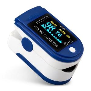 Fingertip Pulse Oximeter Blood Oxygen Saturation Monitor JHA-AI028