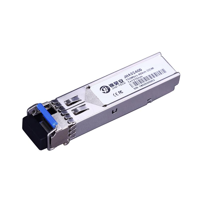 155M Single Mode 40Km DDM | Dual Fiber SFP Transceiver JHA3240D Featured Image