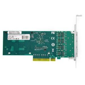 PCI Express v3.0 x8 10Gigabit Quad-port Ethernet Server Adapter JHA-QWC401