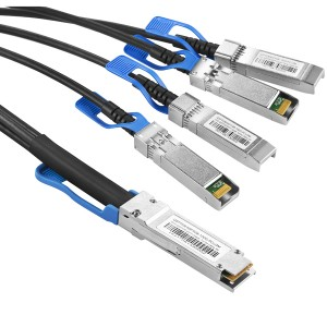 100G QSFP28/4SFP28 Direct Attach Cable JHA-QSFP28-4SFP28-100G-PCU