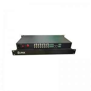 8CH HD-SDI Video to Fiber Converter JHA-S800