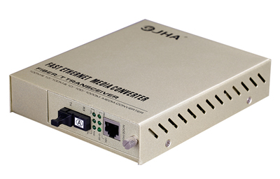 10 / 100TX - 100FX |  Managed Fiber Media Converter