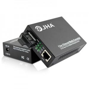 10/100TX – 100FX | Dual Fiber Media Converter JHA-F11