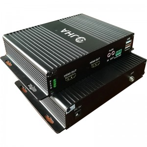 1Channel Compressed HDMI Optical Fiber Video Converter JHA-H100