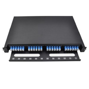 1U Drawing Type Patch Panel
