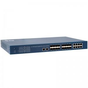 16+10 Management Gigabit Fiber Switch  JHA-S1016MG-26BC