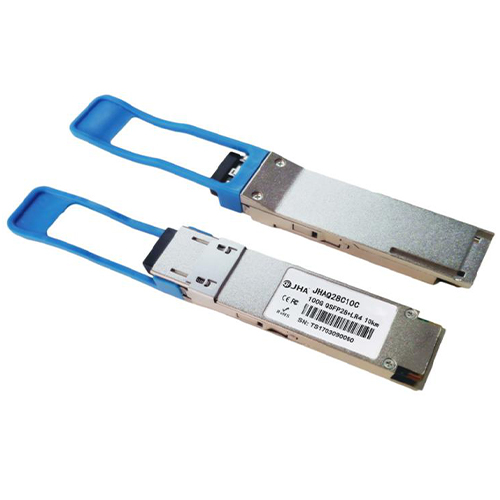 100Gb/S QSFP28 1310nm 10km LR4 LC Transceiver JHAQ28C10C Featured Image