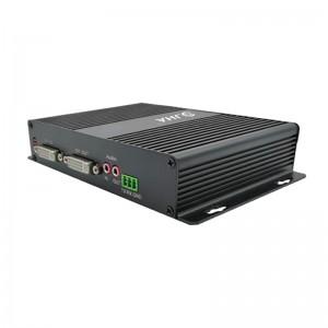 1Ch DVI To Fiber Optical Fiber Converter JHA-D100