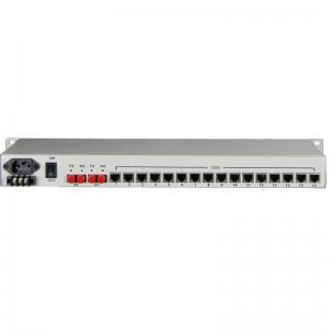 16E1+4GE PDH Fiber Multiplexer JHA-CPE16G4