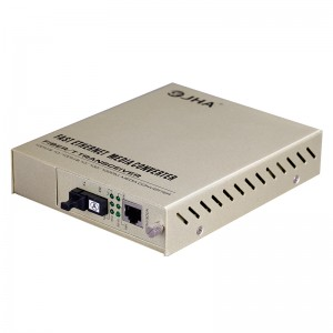 10/100TX – 100FX | Managed Fiber Media Converter JHA-MF11