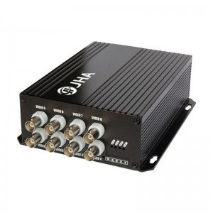 8ch video Tx Optical Video Transmitter and Receiver   JHA-D8TV-20