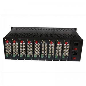 "19""3U, 18 Slots Video Converter Rack, Video Converter Chassis  JHA-D1918TV-3U"