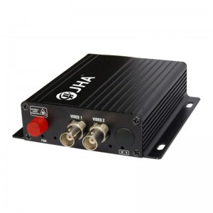 2ch video Tx Optical Video Transmitter and Receiver  JHA-D2TV-20
