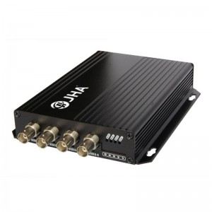 4ch video Tx Optical Video Transmitter and Receiver  JHA-D4TV-20