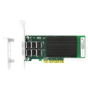 PCI Express v3.0 x8 10Gigabit Dual-port Ethernet Server Adapter JHA-QWC202
