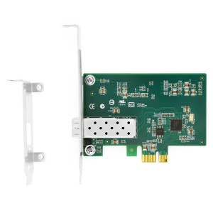 PCIe x1 Gigabit SFP 1 Port Fiber Adapter JHA-GWC101