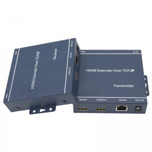 1080P HDMI+IR Extender Over IP  JHA-EHI200TR
