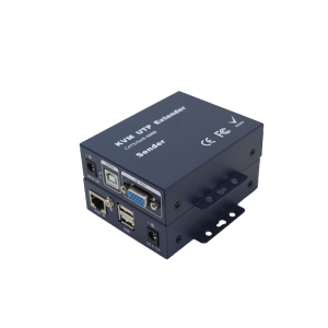 100M VGA Audio CAT5 Extender with KVM(Adaptive) JHA-EVK101TR
