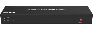 10.2Gbps 1×16 HDMI Splitter with EDID Management  JHA-DHSP16