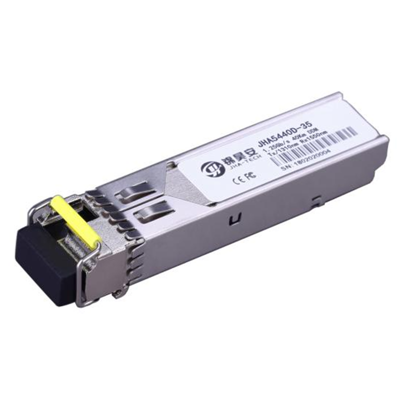1.25G Single Mode 40Km DDM | 1310nmTx/1550nmRx, Single Fiber SFP Transceiver, JHA5440D-35 Featured Image