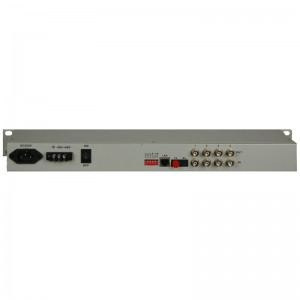 Excellent quality 16 To 4 Multiplexer - 4E1+1FE PDH Fiber Multiplexer JHA-CPE4F1 – JHA