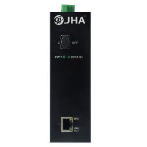 1 10/100/1000TX and 1 1000X SFP Slot | Industrial Media Converter JHA-IGS11