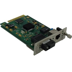 10/100/1000TX – 1000FX Dual Fiber| Card Type Managed Fiber Media Converter JHA-MG11C