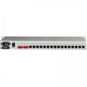 16E1+4FE PDH Fiber Multiplexer JHA-CPE16F4