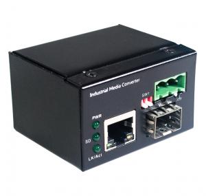 1 10/100/1000TX And 1 1000X SFP Slot | Mini Industrial Media Converter JHA-IGS11C
