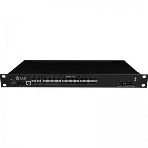 4*10G Fiber Port+24*1000Base-X Managed Industrial Ethernet Switch JHA-MIGS2400W4-1U