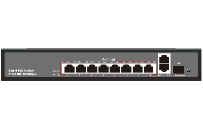 Poe Switch JHA-P41208BM Series