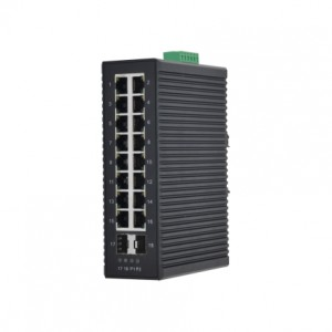16 10/100Base-T(X) and  2 1000Base-X SFP Slot | Managed Industrial Ethernet Switch JHA-MIGS2F16